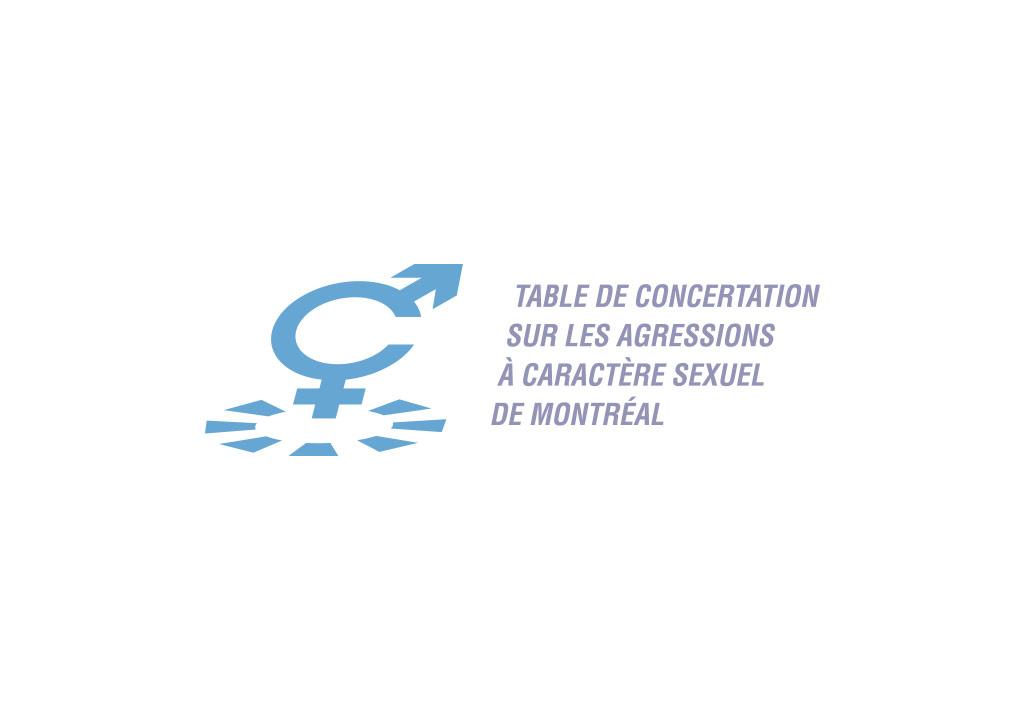 logo Table de concertation sur les agressions à caractère sexuel de Montréal